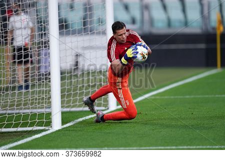 Torino (italy) 26th June 2020. Italian Serie A. Juventus Fc Vs Us Lecce.  Wojciech Szczesny  Of Juve