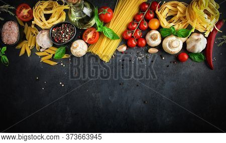 Uncooked, Cook, Cooking, Natural, Cooking, Concept, Tableau, Restaurant, Organic, Recipe, Lunch, Hea