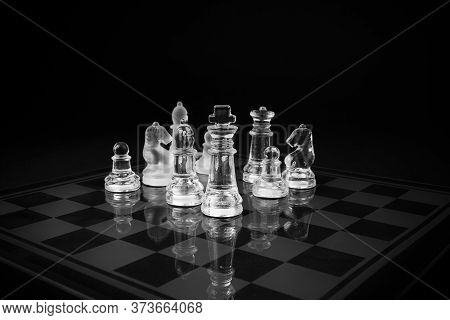 20th Of July International Chess Day Background.
