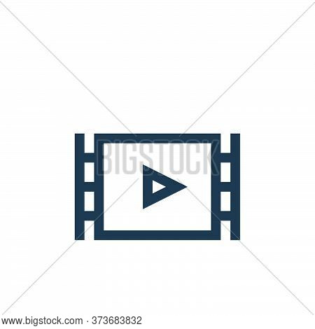 documentary icon isolated on white background from history collection. documentary icon trendy and m