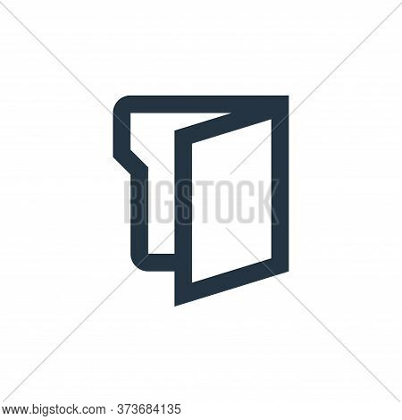 folder icon isolated on white background from office stationery collection. folder icon trendy and m