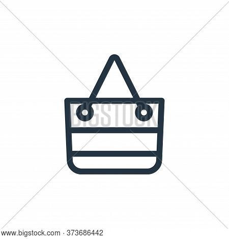 bag icon isolated on white background from holiday collection. bag icon trendy and modern bag symbol