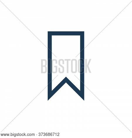 bookmark icon isolated on white background from web essentials collection. bookmark icon trendy and