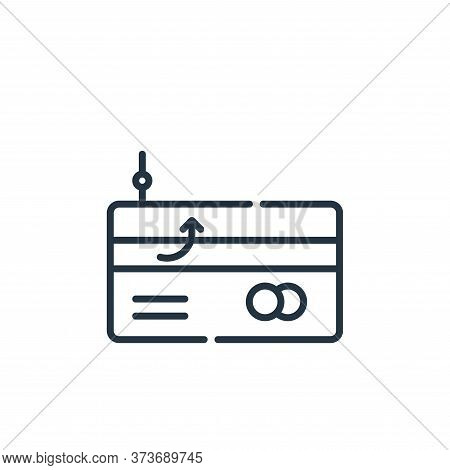 phishing icon isolated on white background from hacker collection. phishing icon trendy and modern p