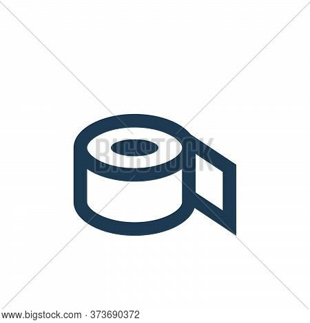 duct tape icon isolated on white background from office stationery collection. duct tape icon trendy