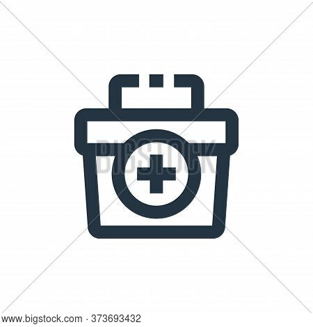 First Aid Kit Vector Icon From Medical Kit Collection Isolated On White Background
