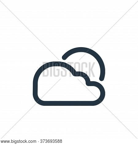 weather icon isolated on white background from travel collection. weather icon trendy and modern wea