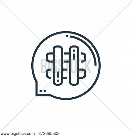 Hashtag Vector Icon From Videoblogger Collection Isolated On White Background
