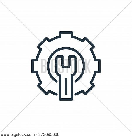 screwdriver icon isolated on white background from engineering collection. screwdriver icon trendy a