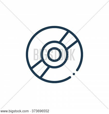 Cd Vector Icon From Plastic Products Collection Isolated On White Background