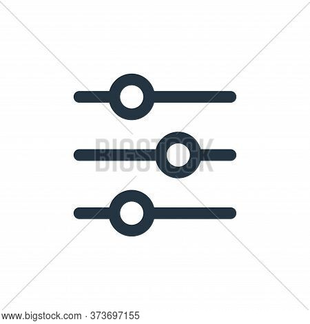 Customize Vector Icon From User Interface Collection Isolated On White Background