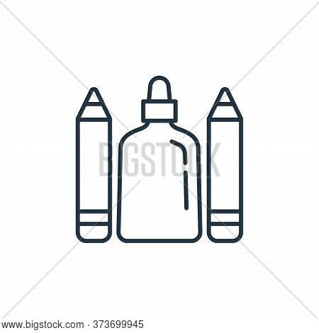 glue icon isolated on white background from stationery collection. glue icon trendy and modern glue