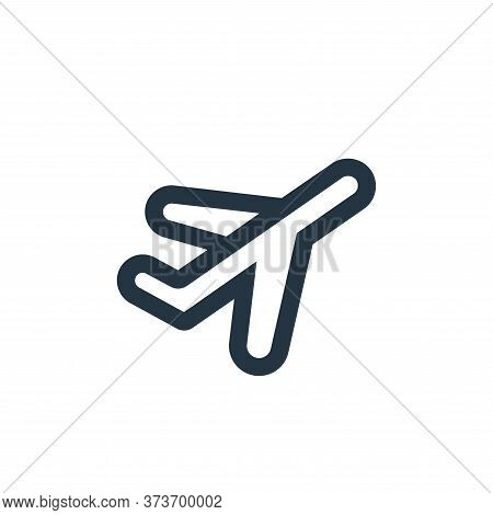 plane icon isolated on white background from device collection. plane icon trendy and modern plane s