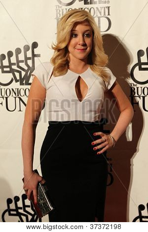 NEW YORK-SEPT. 24: Socialite Amy Poliakoff attends the 27th annual Great Sports Legends Dinner for the Buoniconti Fund at the Waldorf-Astoria on September 24, 2012 in New York City.