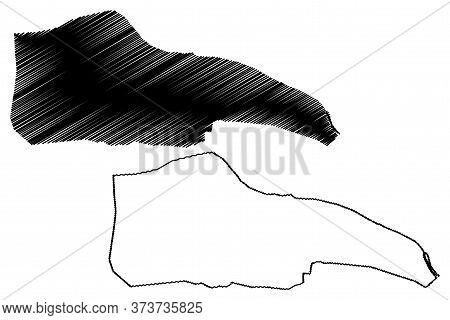 Patna City (republic Of India, Bihar State) Map Vector Illustration, Scribble Sketch City Of Patalip
