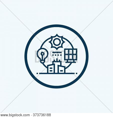 Ecosystem Glyph Icon Vector On White Background. Flat Vector Ecosystem Icon Symbol Sign From Modern