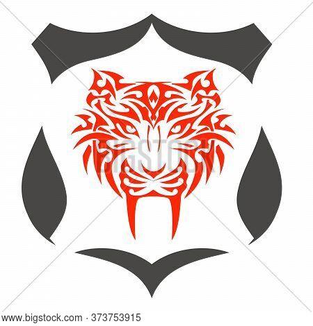 Tiger Art Creative Pictorial Mark Logo Design