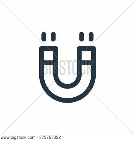 magnet icon isolated on white background from user interface collection. magnet icon trendy and mode