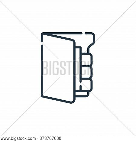 file icon isolated on white background from database and servers collection. file icon trendy and mo