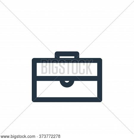 briefcase icon isolated on white background from marketing business collection. briefcase icon trend