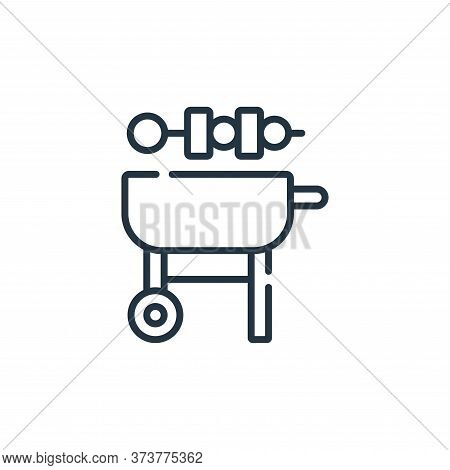 Barbeque Vector Icon From Free Time Collection Isolated On White Background