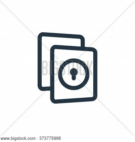 file icon isolated on white background from file and archive collection. file icon trendy and modern