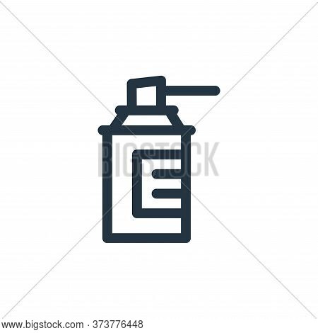 cleaning spray icon isolated on white background from medicine collection. cleaning spray icon trend