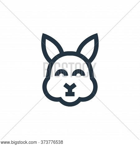 rabbit icon isolated on white background from pet shop collection. rabbit icon trendy and modern rab