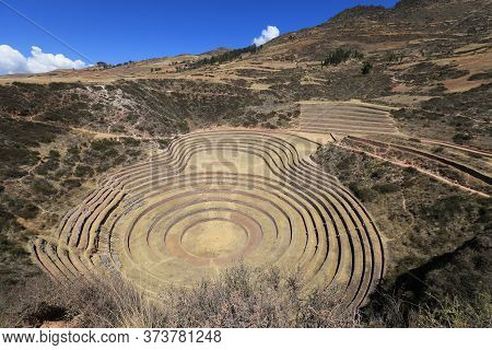 Moray, The Singular Craters Handmade By The Incas