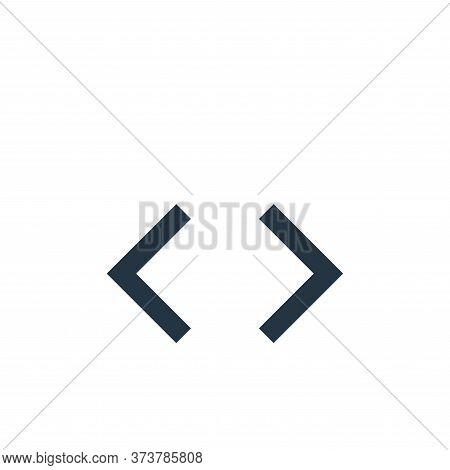 code icon isolated on white background from user interface collection. code icon trendy and modern c