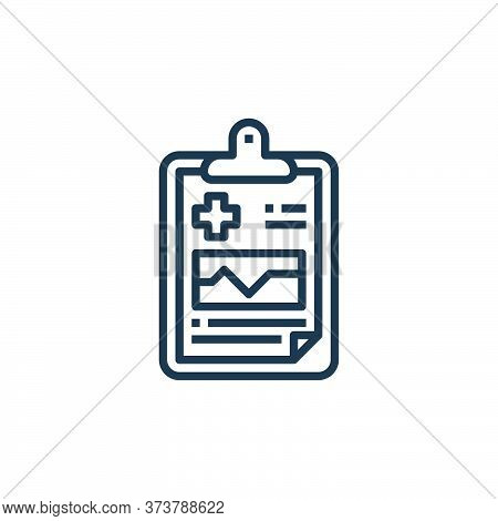 Medical Result Vector Icon From Hospital Collection Isolated On White Background