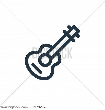 guitar icon isolated on white background from mexico collection. guitar icon trendy and modern guita