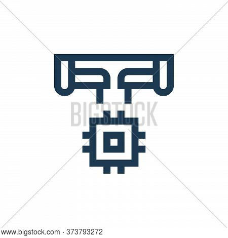 manufacture icon isolated on white background from manufacturing collection. manufacture icon trendy