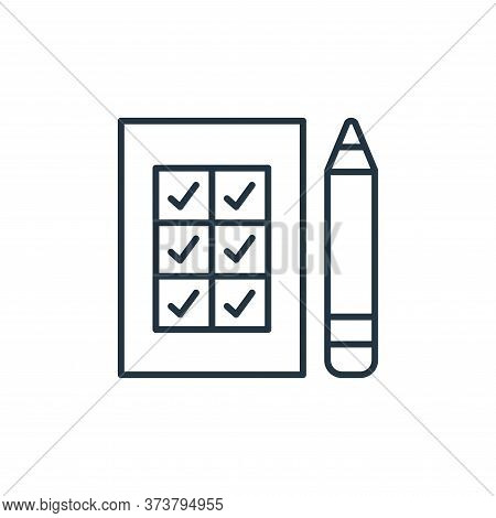 survey icon isolated on white background from leadership collection. survey icon trendy and modern s
