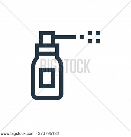 spray icon isolated on white background from pharmacy collection. spray icon trendy and modern spray