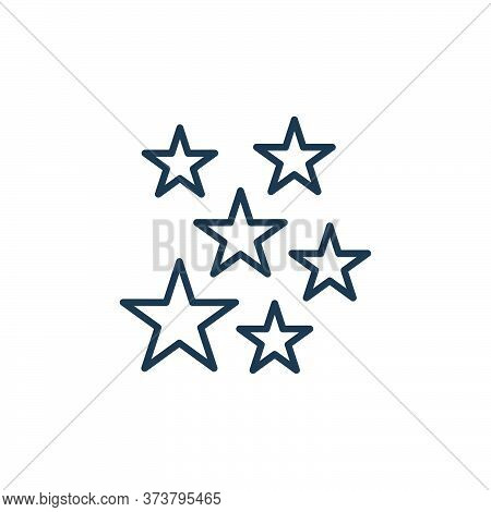 stars icon isolated on white background from space collection. stars icon trendy and modern stars sy