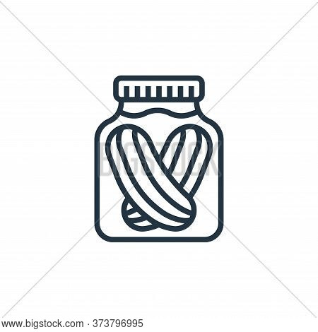 pickles icon isolated on white background from seafood collection. pickles icon trendy and modern pi