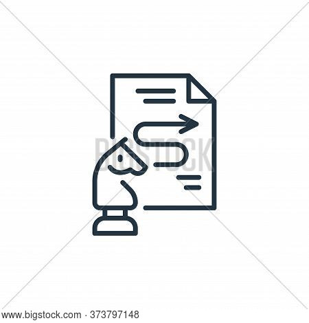 process icon isolated on white background from life skills collection. process icon trendy and moder