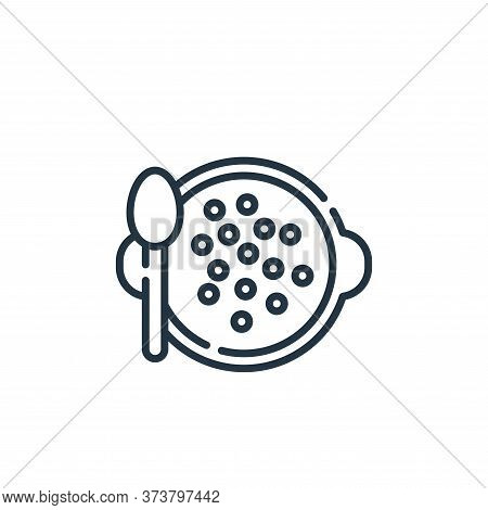 lentils icon isolated on white background from vegan food collection. lentils icon trendy and modern