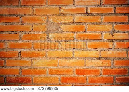 Redbrick Wall Background, Abstract Geometric Pattern Beautiful Abstract Grunge Decorative Stucco Wal