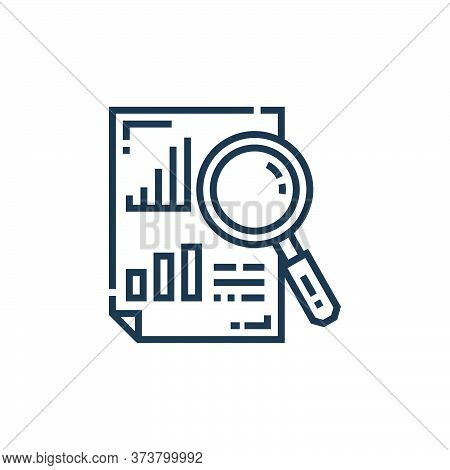 analytics icon isolated on white background from marketing collection. analytics icon trendy and mod