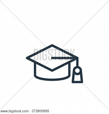 degree icon isolated on white background from school collection. degree icon trendy and modern degre