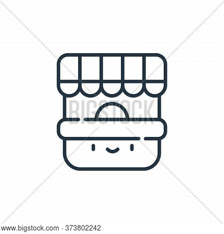 ticket office icon isolated on white background from circus collection. ticket office icon trendy an