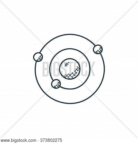 orbit icon isolated on white background from technology collection. orbit icon trendy and modern orb