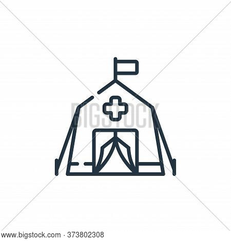 emergency icon isolated on white background from kindness collection. emergency icon trendy and mode
