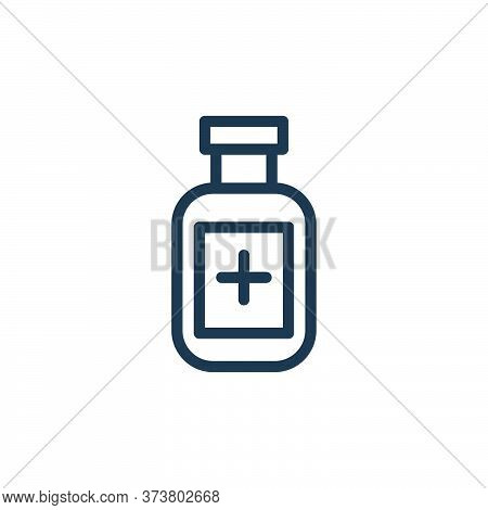 medicine icon isolated on white background from coronavirus collection. medicine icon trendy and mod