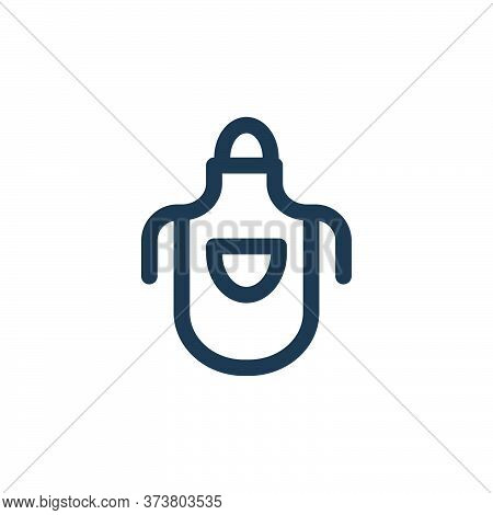 apron icon isolated on white background from landscaping equipment collection. apron icon trendy and