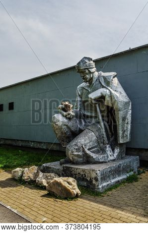 Monument To The Discoverer Of Russian Gold Erofey Markov