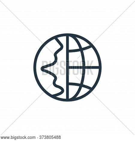 internet icon isolated on white background from contact collection. internet icon trendy and modern