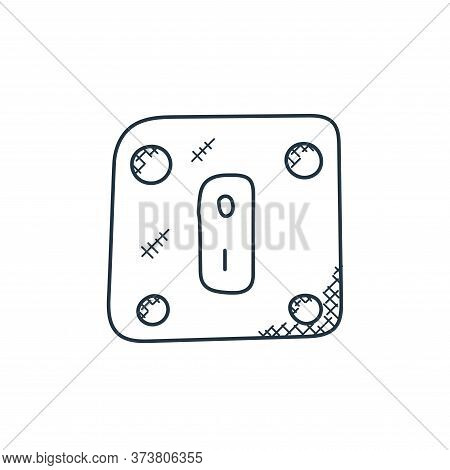 power switch icon isolated on white background from technology collection. power switch icon trendy